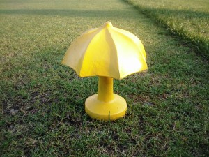 Played the Yellow Umbrella Tees (6,437 yards), Green Umbrella Tees available if you like at 7,381 yards!
