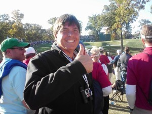 Thumbs up to golf and life and Premier Golf Ryder Cup packages!
