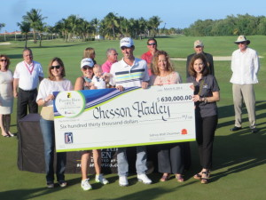 Chesson Hadley wins the 2014 Puerto Rico Open presented by SeePuertoRico.com