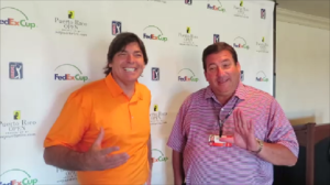 With Sidney Wolf, Tournament Chairman of the Puerto Rico Open presented by SeePuertoRico.com.