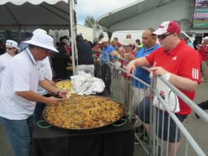 The Paella Pa'ellos Competition resulted in tasty mouth watering servings all for charity.