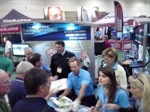 Bobby signing the 'Impact Zone' book at the 2013 PGA Show. Every year the 'Impoact Zone' makes a bigger impact in the game of golf.