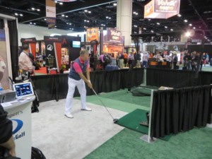 Bobby making an impact at  the 2014 PGA Show.