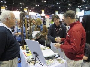 The new golf book, Great Golf Collections of the World, attracted a lot of attention at the 2014 PGA Show.