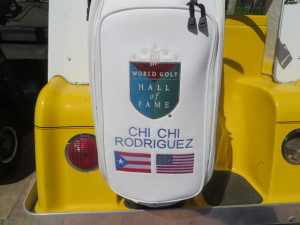 Chi Chi Rodriguez, a World Golf Hall of Fame member, a proud Puerto Rican and a great American!
