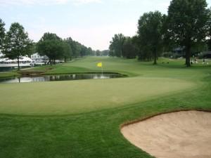 Gosh, what a beautiful golf hole!