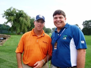 Pic with Boo Weekley.