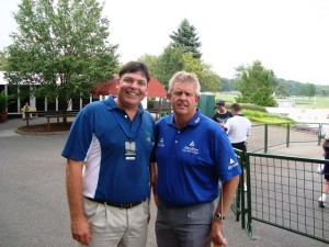 Pic with Colin Montgomerie.