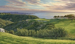 Linda's fourth favorite- the 3rd at Torrey Pines in 2008.