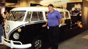 Here's the hippie bus that brought Pedro & I together at the 2011 PGA Show in Orlando.