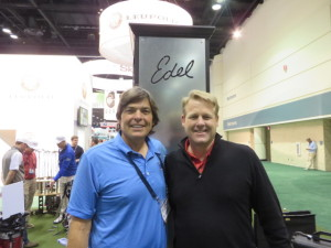 With David Edel at the 2014 PGA Show.